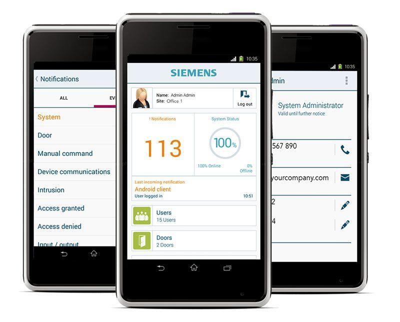 Siemens Aliro mobiilisovellus