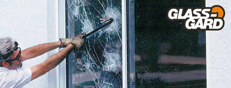 GlassGard turvakalvo suojaa ikkunaa tehokkaasti